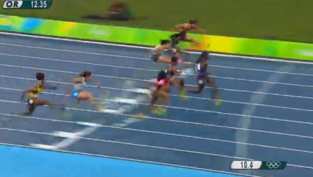 Nickiesha Wilson at the rio olympics (4)