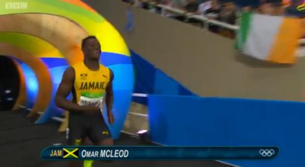 Omar McLeod History Making Victory In Men's 110m Hurdles Finals 1