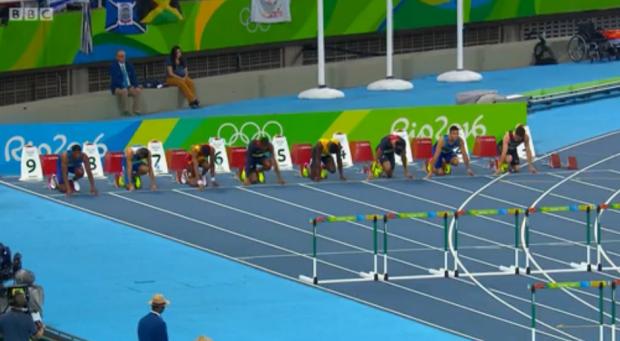 Omar McLeod History Making Victory In Men's 110m Hurdles Finals 4