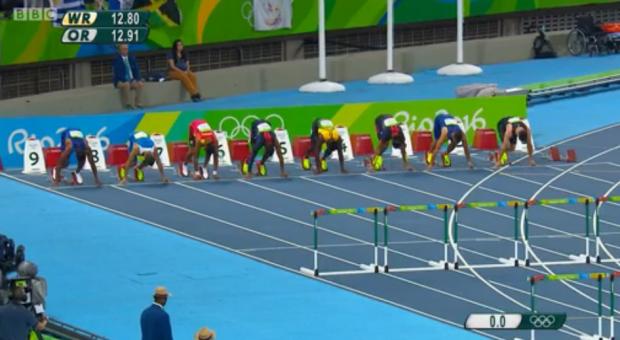 Omar McLeod History Making Victory In Men's 110m Hurdles Finals 5