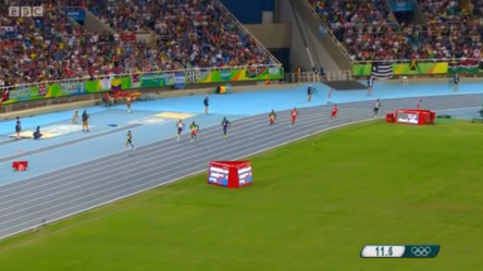 Rio 2016 Olympics Van Niekerk Of South Africa Blew Away Kirani James & LaShawn Merritt With 400m World Record .02