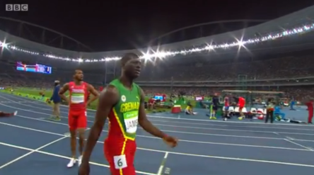 Rio 2016 Olympics Van Niekerk Of South Africa Blew Away Kirani James & LaShawn Merritt With 400m World Record.26