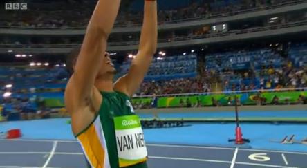 Rio 2016 Olympics Van Niekerk Of South Africa Blew Away Kirani James & LaShawn Merritt With 400m World Record.40 (2)