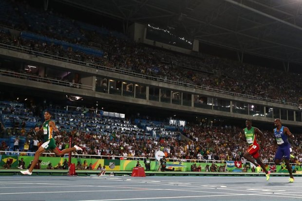 Rio 2016 Olympics Van Niekerk Of South Africa Blew Away Kirani James & LaShawn Merritt With 400m World Record 4486