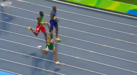 Rio 2016 Olympics Van Niekerk Of South Africa Blew Away Kirani James & LaShawn Merritt With 400m World Record