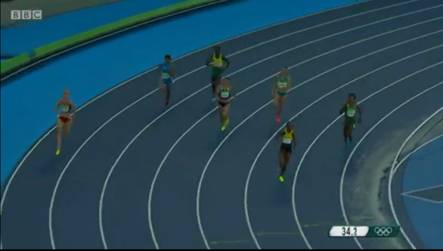 Stephanie McPherson Qualifies For Semi Finals Of Women's 400m
