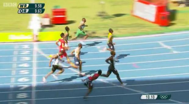 Yohan Blake qualifies for the men's 100m semi finals in Rio