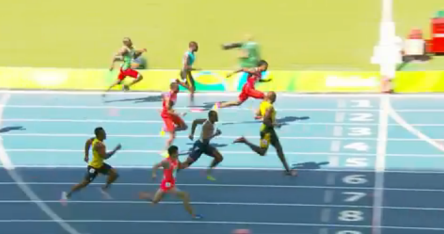Usain Bolt qualifies for the men's 100m semi finals in Rio