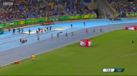 Javon francis in Men's 400m semi finals