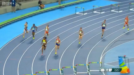 Ristananna Tracey Through To The Women's 400m Hurdles Finals