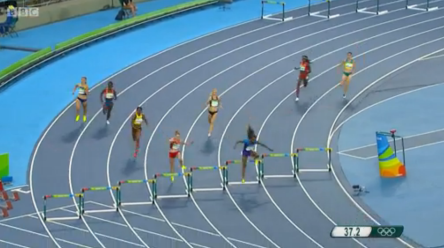 leah nugent Through To The Women's 400m Hurdles Finals