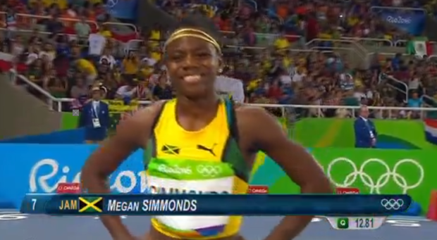 megan simmonds at the rio olympics