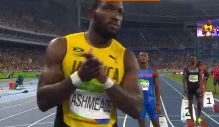 nickel ashmeade at rio olympics 200m semi