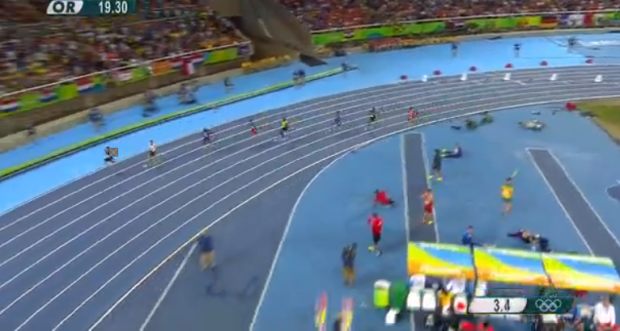 nickel ashmeade at rio olympics 200m semi