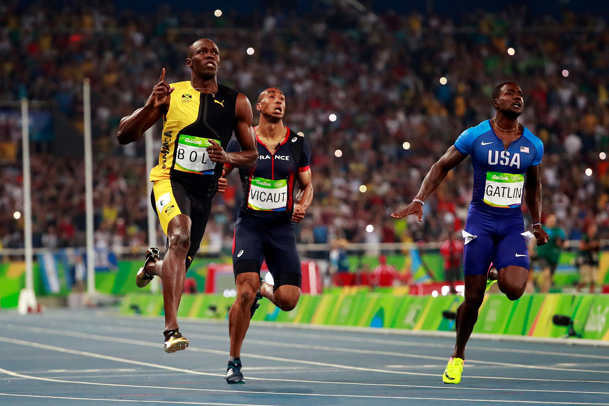 Rio 2016 Olympics: Usain Bolt Three Time 100m Olympic ...