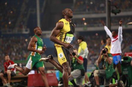 usain bolt wins rio 2016 olympics 100m