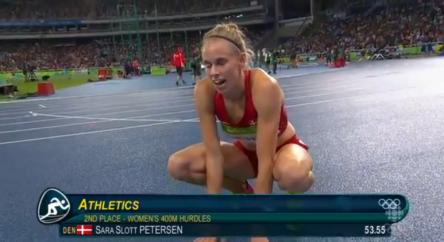 Women's 400m Hurdles Final.08