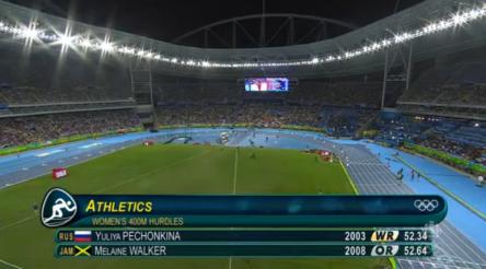 Women's 400m Hurdles Final.26