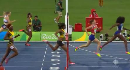 Women's 400m Hurdles Final 3