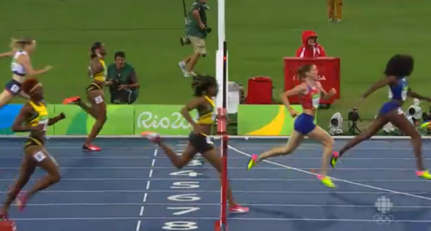 Women's 400m Hurdles Final 3