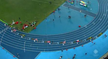 Women's 400m Hurdles Final.36