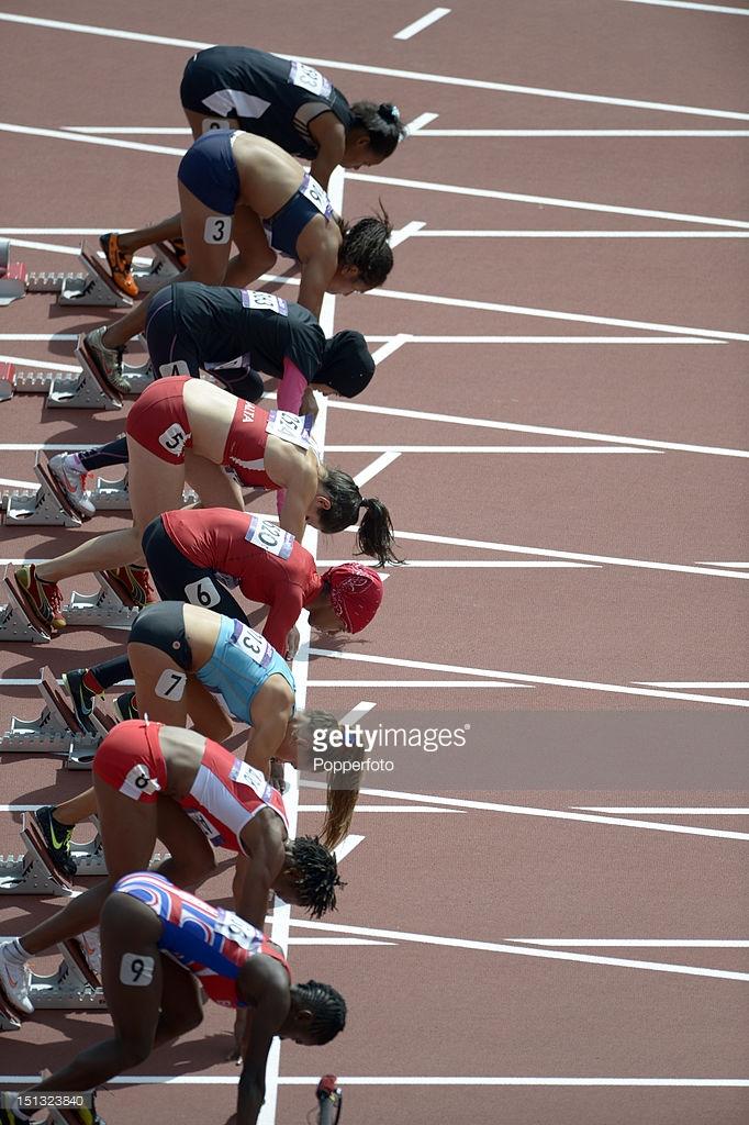 womens 100m prelim