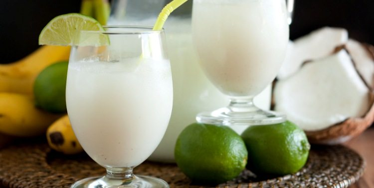 Limonada de Coco (Coconut Lemonade)