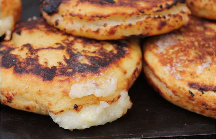 Treasures of Colombia: Colombian Arepa de Queso (Colombian Street Food)