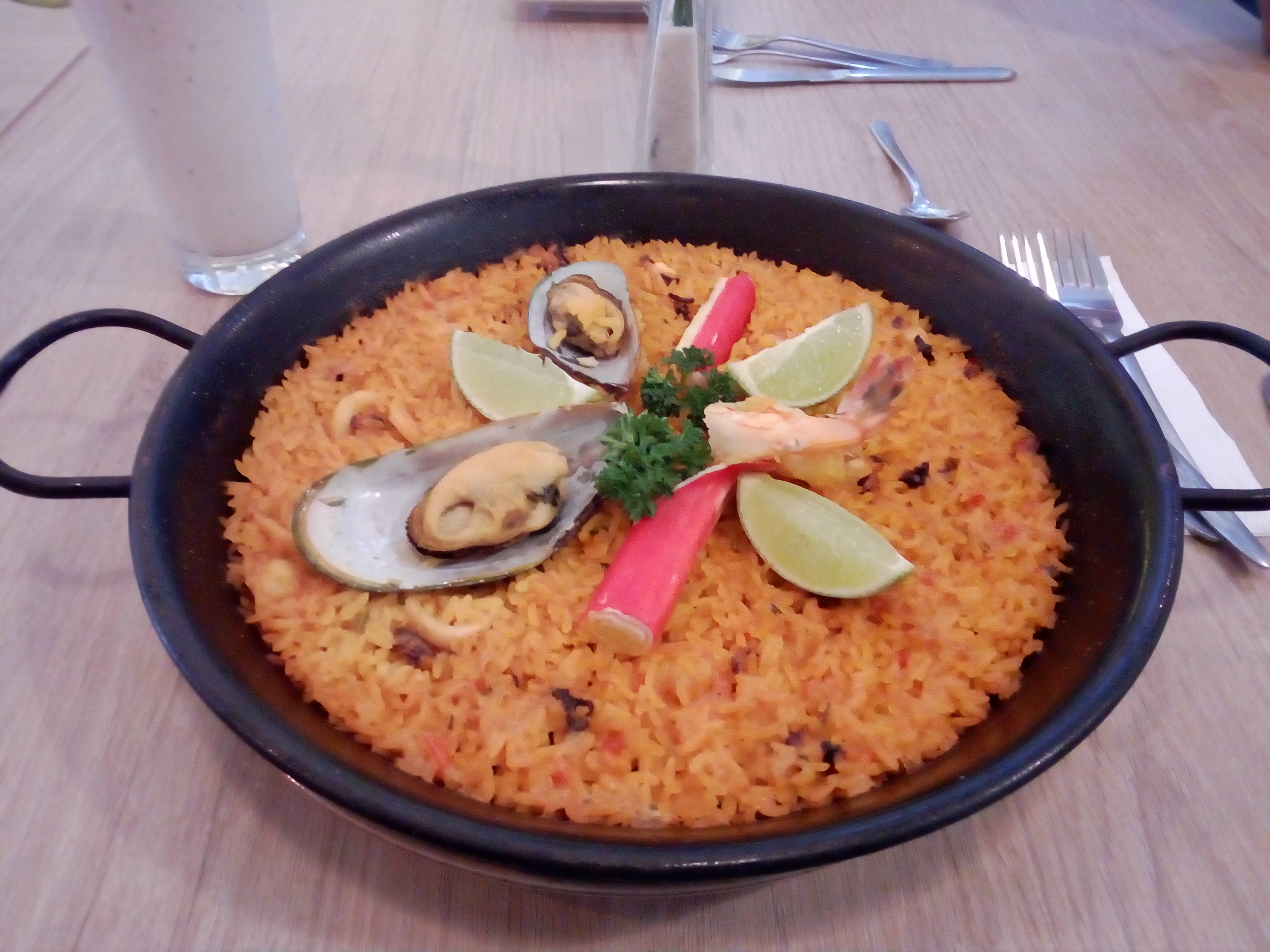 Treasures of Colombia: Seafood Paella (Colombian Street Food)