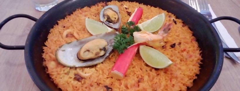 Seafood Paella (Colombian Street Food)