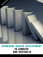 Examining Career dev by denise fyffe book cover
