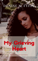 My Grieving Heart - Poetry Bookcover