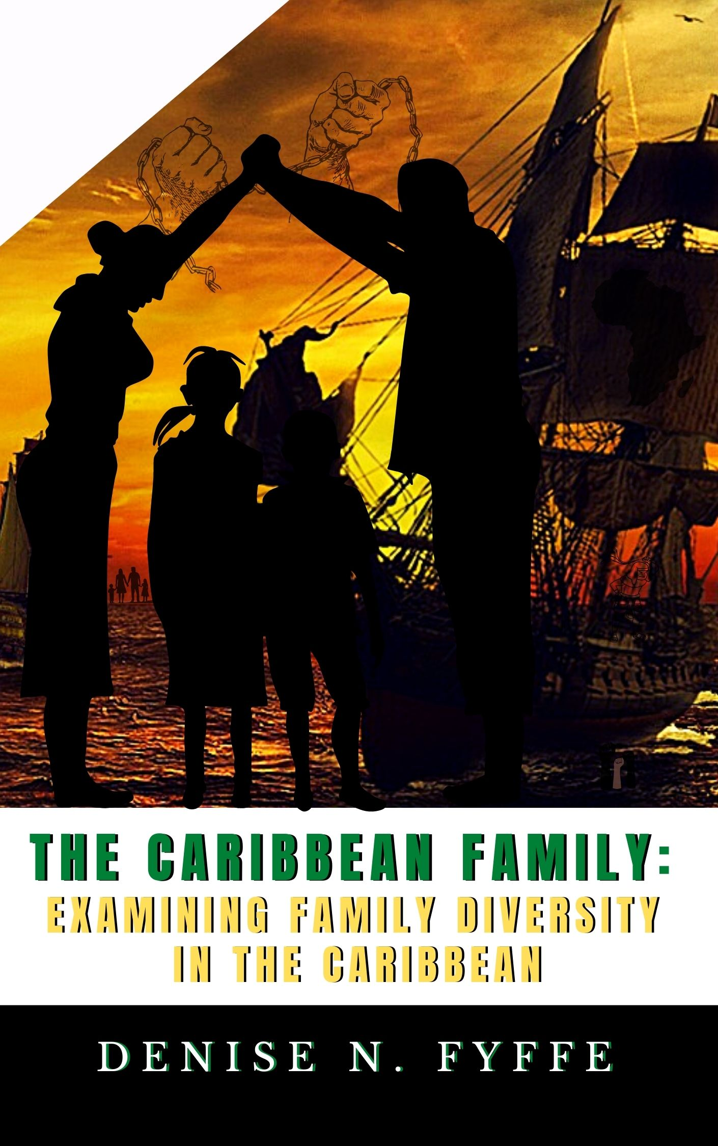 2021 Academic Book Covers - The Caribbean Family by Denise Fyffe