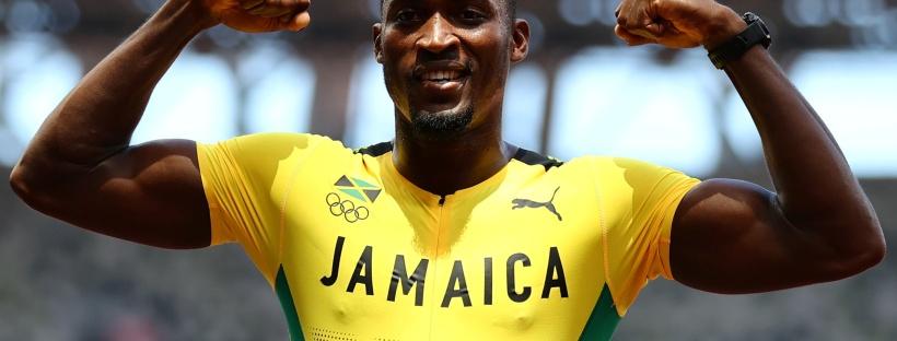 Jamaica wins Men's 110m Hurdles Final