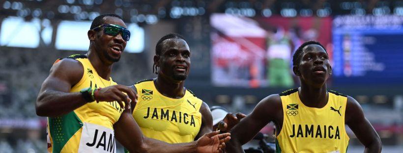 Tokyo Olympics 2021 - Jamaica mens 4x100 meters team